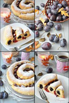 Fruit Recipes, Sweet Recipes, Dessert Recipes, Cooking Recipes, Desserts, Russian Pastries, Russian Cakes, Czech Recipes, Ethnic Recipes