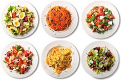 101 simple salads #food