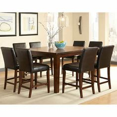 Heritage Brands Sonoma 9 Piece Dining Set Costco Heritage Brands