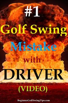 Explosive Golf Drives - Beginner Golf Swing Tips Golf Driver Swing, Golf Drivers, Golf Tips For Beginners, Golfers, What You Can Do, Golf Ball, Shots, Pinterest Board, It's Easy