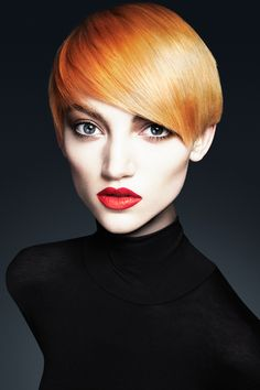 Be inspired to get the chop with this red crop.