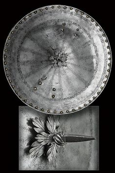 A shield from France, 16th century.