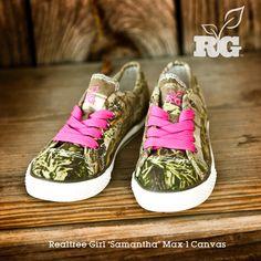 Realtree Girl Samantha Max-1 Canvas Shoes #realtreegirl