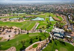 Aerial view of Wildhorse Golf Course:  2100 Warm Springs Road  Henderson, NV 89014 (702) 434-9000