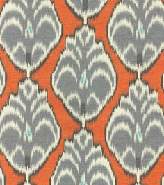 """HGTV Home Upholstery Fabric 54""""-Hometown Mineral"""
