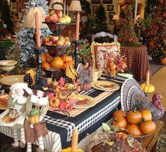 Image result for thanksgiving tablescapes