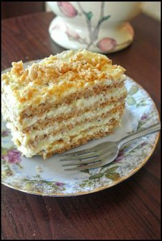Sans Rival, Cake Recipes, Dessert Recipes, Polish Recipes, Sweet Desserts, Sugar And Spice, Vanilla Cake, Good Food, Brunch