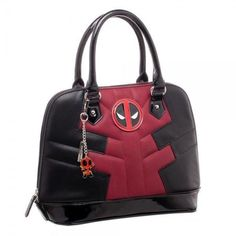 Marvel Officially Licensed Deadpool Suit Up Handbag NEW Movie Costume