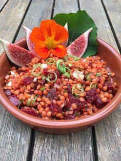 Rote-Linsen-Salat mit Roter Bete 1