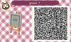 Animal Crossing: New Leaf QR Code Paths Pattern - Good for Halloween. :)