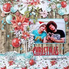 December 2018 Class Kit Layout created with Mintay Papers Christmas Stories Collection and Kaisercraft dies. A Christmas Story, Christmas Home, Christmas Cards, Christmas Layout, Mixed Media Scrapbooking, Scrapbooking Layouts, Christmas Scrapbook Layouts, Paper Design, Cardmaking
