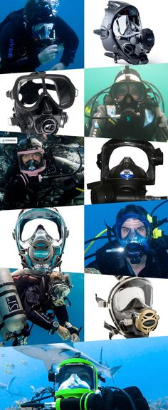 If you're a regular scuba diver, you probably have all or at least most of your scuba gear and accessories to get you ready to hit the water. But have you seen the new piece of kit on the markets this year?! – Full face masks!  We've reviewed the best full face dive masks available to help you pick the perfect addition to your scuba gear!   #divemasks #scubamasks #fullfacemask #fullfacedivemask #scubagear #divegear #facemask #diving #scubadiving Scuba Diving Mask, Dive Mask, Full Face Mask, Face Masks, Scuba Gear, Diving Equipment, Predator, Underwater, The Past