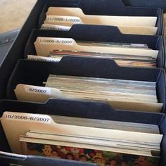Best Way to Organize Photos in 6 Simple Steps 2019 Need To Organize Your Photos? Get Started Here The post Best Way to Organize Photos in 6 Simple Steps 2019 appeared first on Scrapbook Diy. Scrapbook Organization, Paper Organization, Office Organization, Organizing Tips, Scrapbook Supplies, Genealogy Organization, Picture Storage, Photo Storage Boxes, Photo Album Storage