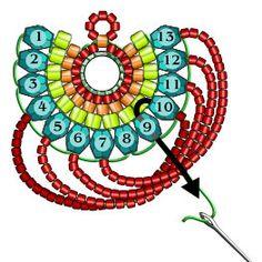 beaded earrings making Seed Bead Jewelry, Bead Jewellery, Seed Bead Earrings, Hoop Earrings, Diy Jewelry, Jewelry Accessories, Jewelry Making, Seed Beads, Jewelry Ideas