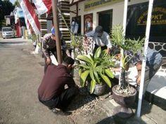 Polsek Kare Laksanakan Program Selasa Bersih