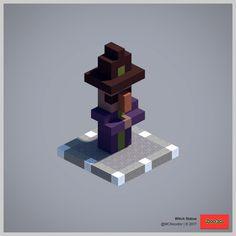 Post with 24143 views. Art Minecraft, Minecraft Statues, Minecraft Structures, Minecraft Medieval, Cute Minecraft Houses, Minecraft Plans, Minecraft Tutorial, Minecraft Blueprints, Minecraft Creations