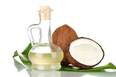 coconut oil for thick hair
