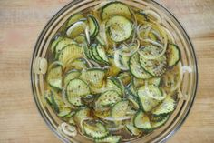 These bread and butter pickles turned out even better than expected - they were crispy and delish!