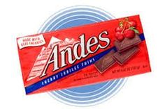 Andes Cherry Jubilee Chocolate Candy 3 boxs, 28 pieces per box