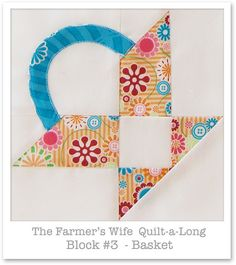 Farmer's Wife Quilt-a-Long - Block 3 | Flickr - Photo Sharing!