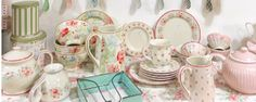 Pastel beauties from Greengate.com