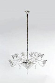 MATTHIAS & MAISON BACCARAT Important lustre de la collection « Mille