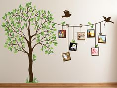 Image of: Cute Family Tree Wall Decal Paint for Bedrooms
