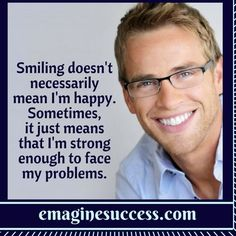 Smiling through adversity is one of the greatest smiles you can share. #smiles #bartism http://emaginesuccess.com