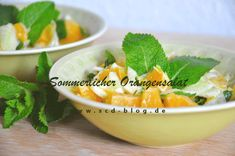 Sommerlicher Orangensalat - SCD und FODMAP in einem Rezept Cantaloupe, Fruit, Food, Fodmap Recipes, Fresh, Food Food, Meal, The Fruit, Eten