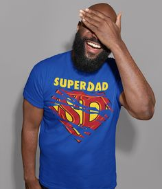 Men's Funny Super Dad T Shirt Father's Day Gift Hero Shirt Funny Dad Gift Father's Gift Funny Dad Shirt Funny Dad Shirts, Fathers Day Shirts, Dad To Be Shirts, Cool T Shirts, Great Gifts For Dad, Funny Gifts For Dad, Gifts For Father, Buffalo T Shirts, Elephant Shirt