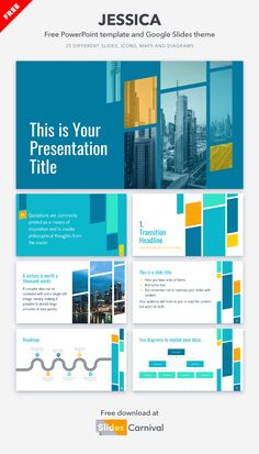 Add credibility to your decks with this professional free presentation template. It has a modern design of geometric shapes that fits any topic. With this theme you can take any business presentation to the next level. Business Presentation, Presentation Design, Presentation Templates, Philosophical Thoughts, Geometric Shapes, Decks, Quotations, Modern Design, Ads