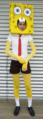 spongebob costume diy - Cerca con Google