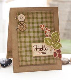 Fall Foliage; Textile Backgrounds; Fall Foliage Die-namics; Pierced Rectangle STAX Die-namics - Lisa Johnson