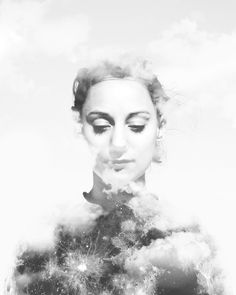 « La tête basse, on s'obstine, attendant de quel nuage viendra l'signe » Oxmo Puccino ©Niels Plotard Work