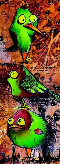 Crazy Birds op herhaling