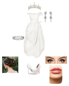 """""""bride look"""" by nianaap ❤ liked on Polyvore featuring SJP, Swarovski, Effy Jewelry and LASplash"""