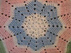 Shooting Star Baby Blanket Pattern