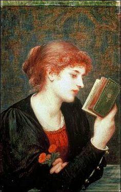 Sonetos de amor, 1894 Marie Spartali Stillman (Inglaterra, 1844-1927) Delaware Art Museum, EUA