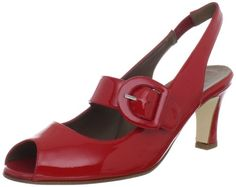 """Anyi Lu Women's Tulip Open-Toe Pump - Price: $395.00: []Heel measures approximately 2.5"""" []Platform measures approximately 0.25"""" []Made in Italy"""