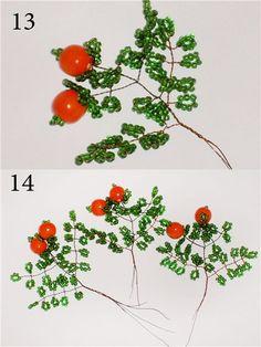 beaded tree--photo tutorial