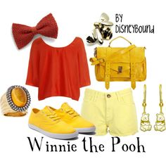 Disney Clothes Pooh / created by Leslie Kay from Canada