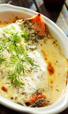 Uunilohi | Maku Seafood Dishes, Fish And Seafood, Seafood Recipes, My Favorite Food, Favorite Recipes, Finnish Recipes, Happy Foods, Cook At Home, Baked Salmon