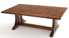 Arts & Crafts Furniture, Mission Coffee Table, Bungalow Style Furniture, Arts and Crafts