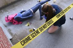Crime Scene Investigation Camp at the University of New Haven