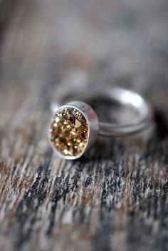 "The answer to ""not doing gold"" but still wanting a dash of gold in your jewelry collection ;-)"