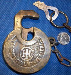 Antique Padlocks And Their Value Fraim Six Lever Antique