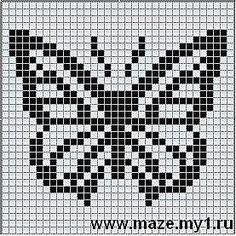 Cómo dibujar una mariposa en cajas: descargar e imprimir dibujos