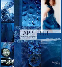 Lapis Blue pantone color trend for spring 2017