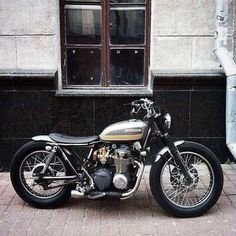 #Honda #cb500four #bratstyle