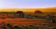 Paryang Nomads camp Tibet | View large on black | reurinkjan | Flickr